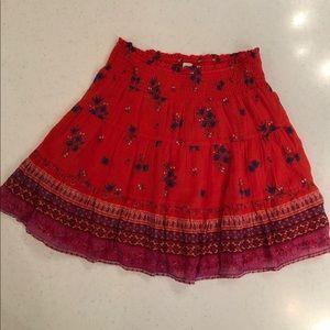Old Navy Bohemian Mini Skirt